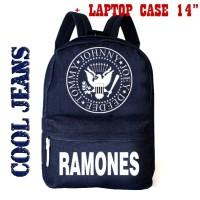Tas Sekolah Pria Distro Ramones - Tas Ransel Laki laki - Backpack Cowo