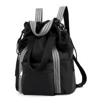BP52 Ransel Wanita Korea Oxford Waterproff Leisure Backpack - black