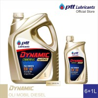 PTT Lubricants Dynamic Commonrail Synthetic 5W40 ACEA A3/B4 [6+1L]