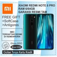 XIAOMI REDMI NOTE 8 PRO RAM 6/64GB - Garansi Resmi TAM 1 Tahun - Biru