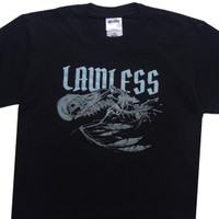 LAWLESS - DEAD CROW TSHIRT - BLACK