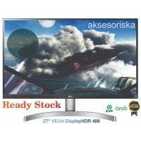 Monitor LG LED IPS 4K 27UL600-W Kelas 27 dengan VESA DisplayHDR 400