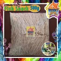 500g Fish snack sugar glider / hamster / kucing makanan cemilan hewan