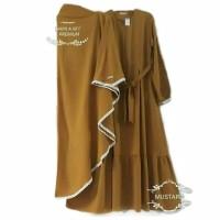 Nabila set baju gamis pakaian wanita dress fashion muslim