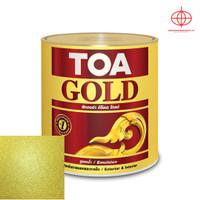 Cat Emas Kubah - TOA Gold Waterbased W8008 Miracle Gold 1L