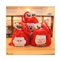 Tas Permen Desain Kaos Kaki Natal untuk Anak Loca