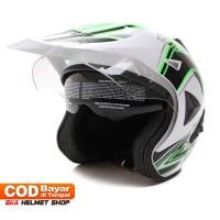 FWD [Helm Dewasa] WTO Helmet Pro-Sight Cross - Double