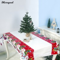 Microgood Christmas Santa Table Cover Tablecloth Cushion Mat PVC