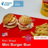 Roti Mini Burger Bun, by Fun Gourmet