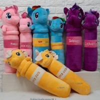 boneka guling my little pony