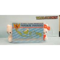 Plastik Cover Untuk KTP / ID Card Pelindung Kartu