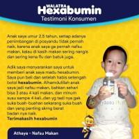 Walatra Hexabumin Madu Anak Albumin - Memperbaiki Gizi Buruk