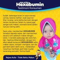 Walatra Hexabumin Madu Anak Albumin - Menjaga Daya Tahan Tubuh Anak