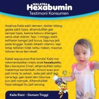 Walatra Hexabumin Madu Anak Albumin - Mempercepat Proses Penyembuhan