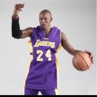 NBA Lakers Basketball Player Star Kobe Bryant Real Masterpiece Figure