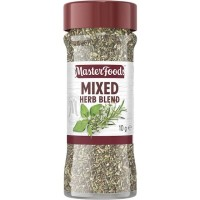 MASTERFOODS MIXED HERBS 10GR (IMPORT)