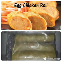 Nugget Bento Egg Chicken Roll