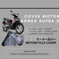 Cover Selimut Penutup Sarung Mantel Motor Honda Supra X 125 Waterproof - Non Waterproof