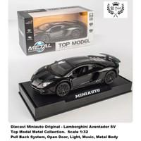 Diecast Miniauto mobil Lamborghini Aventador SV Metal Collection 1:32