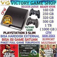 SONY PS 3 PS3 SLIM CFW 500GB SERI 25XX FREE REQUEST GAME SAMPAI PENUH