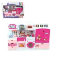 Mainan Anak Perempuan Dapur Boneka Kitchenette Full Set