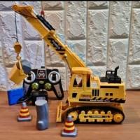 Mainan RC TRUCK CONSTRUCTION CRANE - 689-16
