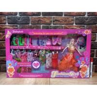 Mainan Anak Boneka Barbie Fashion Girl Fairytale