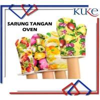 KUKE Sarung Tangan Oven / Sarung Tangan Anti Panas / Lap Tangan