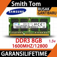 RAM MEMORY SAMSUNG NOTEBOOK LAPTOP DDR3 8GB 1600