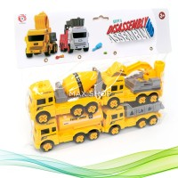 Disassembly and Assembly 88901-4 Mainan Anak Truk Konstruksi Excavator