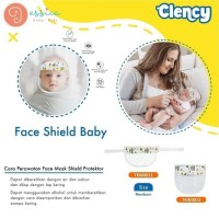 Face Shield Protector Bayi Pelindung Muka Masker Mask Clency