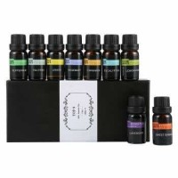 Essential Fragrance Paket Minyak Aromatherapy 10ml 9 Botol Mix - ERT89