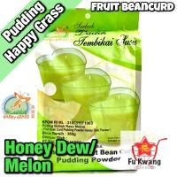 Fruit Bean Curd Pudding Powder Honey Dew Melon Happy Grass 360 gram