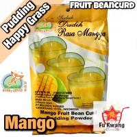 Fruit Bean Curd Pudding Powder Mango Mangga Happy Grass 360 gram