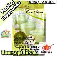 Fruit Bean Curd Pudding Powder Soursop Sirsak Happy Grass 360 gram