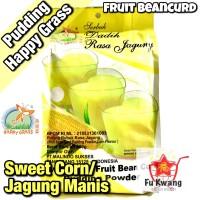 Fruit Bean Curd Pudding Powder Sweet Corn Jagung Happy Grass 360 gram