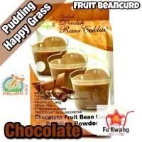 Fruit Bean Curd Pudding Powder Chocolate Cokelat Happy Grass 360 gram
