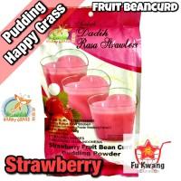 Fruit Bean Curd Pudding Powder Strawberry Happy Grass 360 gram