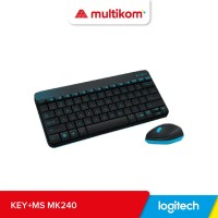 Logitech Combo MK240 NANO Wireless Keyboard + Mouse ORIGINAL