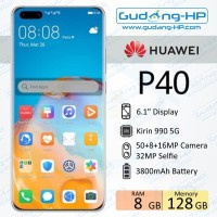 Huawei P40 8/128 GB Garansi Resmi