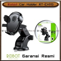Car Holder Robot RT-CH11S Mobil Tempat HP Suction Cup Stent Original