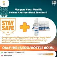 Falmed Hand Sanitizer Alcohol 70 persen Antiseptic Corona Virus 70%