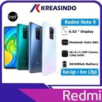 Xiaomi Redmi Note 9 6/128 Ram 6gb Rom 128gb Garansi Resmi TAM - Hijau