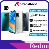 Xiaomi Redmi Note 9 Pro 6/64 Ram 6gb Rom 64gb Garansi Resmi TAM