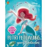 Buku Aktivitas Anak Disney Princess : Ariel Putri Petualang Pemberani