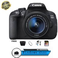 Canon EOS 700D Kit 18-55MM IS STM / Canon 700D / EOS 700D paketan