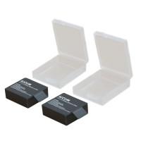 SUPTIG Waterproof Camera Battery Case 1 PCS for Xiaomi Yi/ GoPro Hero