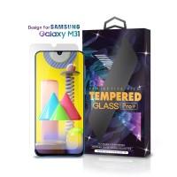 Tempered Glass Samsung Galaxy M31 Clear Transparan - Premium Glass Pro