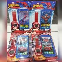 Jam tangan anak plus mainan hp Cx-501