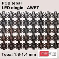 Heat Sink Aluminium Plat Pendingin HPL LED 1W 3W Star PCB HeatSink